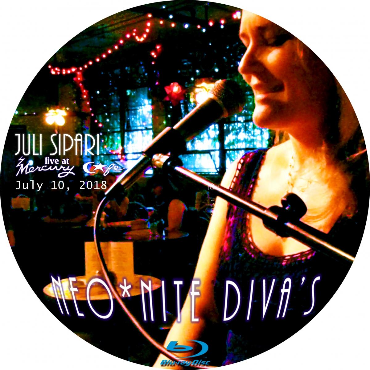 Juli Sipari Neo*Nite Diva Blu-Ray Disc Art