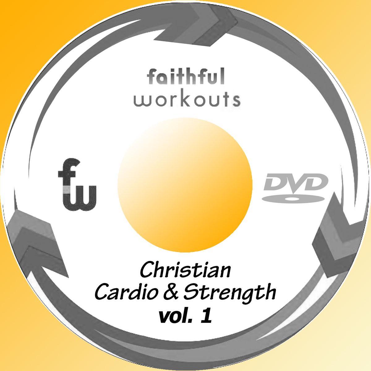 Faithful Workouts Black/Silver Disc Print