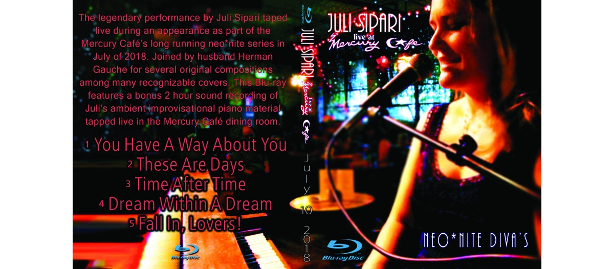 Juli Sipari Neo*Nite Diva Blu-Ray Cover