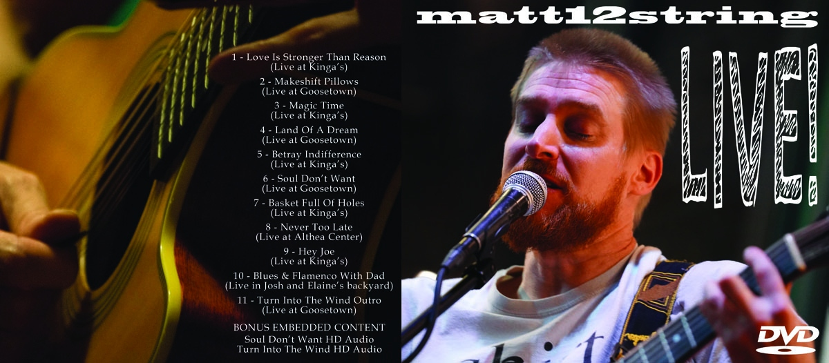 Matt-12-String DVD Entrapment