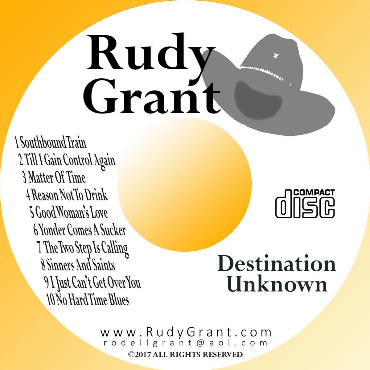 Rudy Grant Black/Silver Disc Print